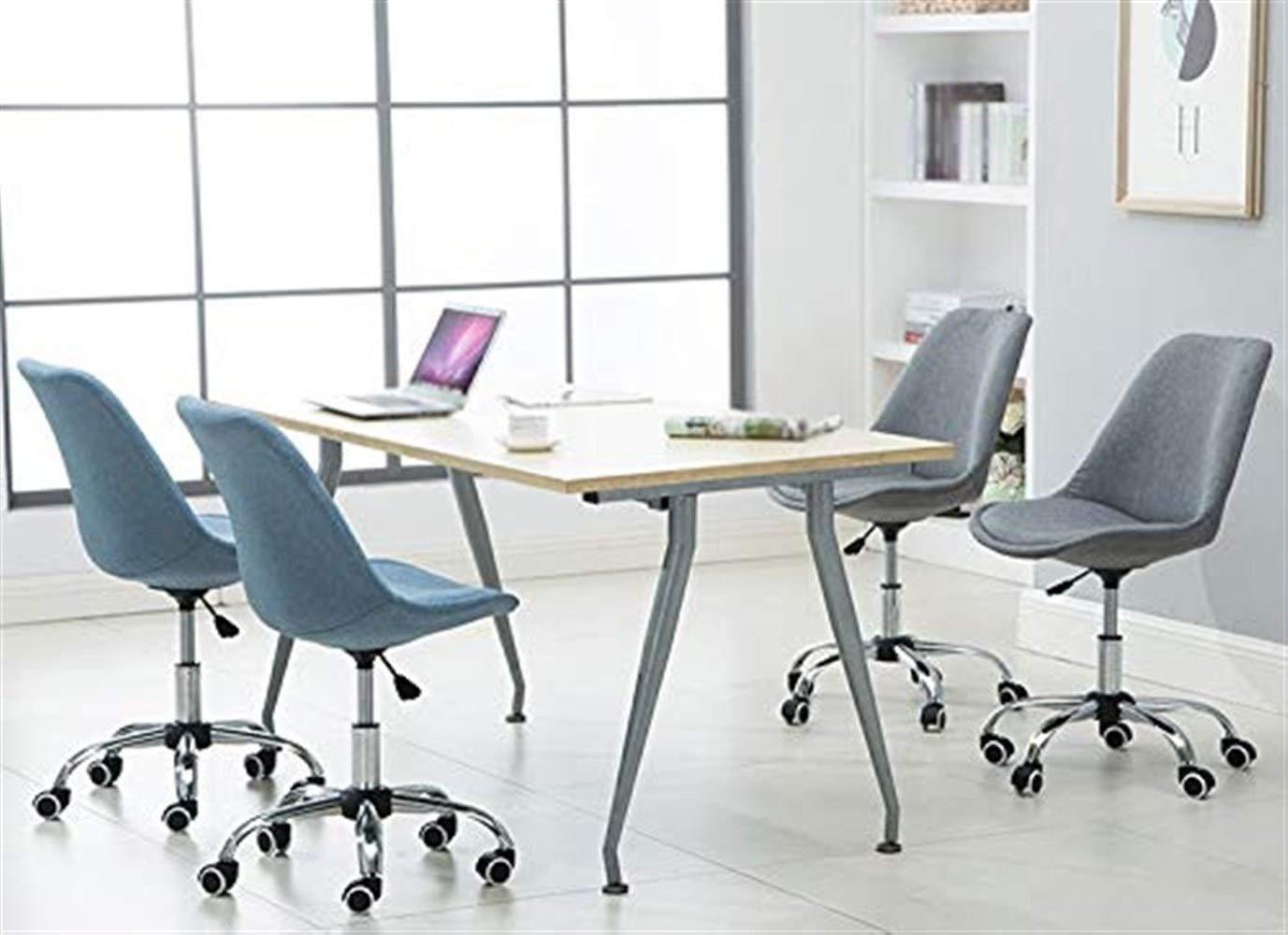 Kontorsstol student stol spelstol dator stol mottagningsstol roterbar kan lyfta GMING (färg: Lila) gRÖN