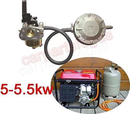logas – Kits de conversión para 5 – 5,5 kW Honda gasolina ...