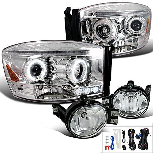 Dodge Projector Headlights Clear Bumper