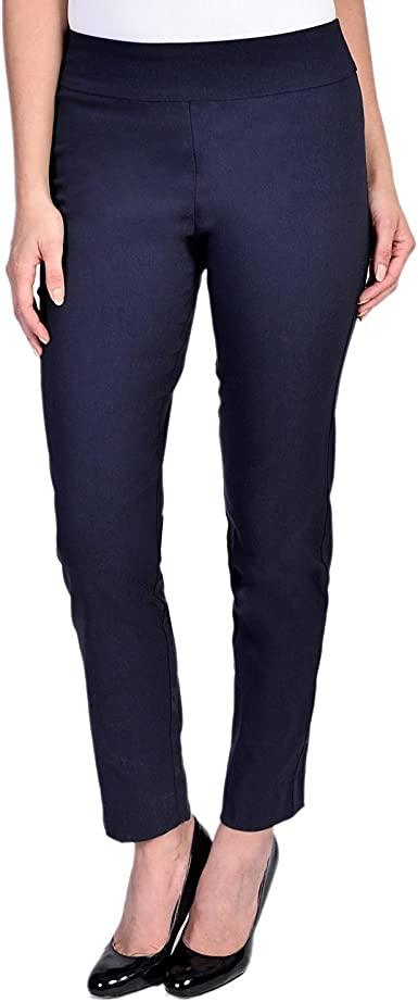Krazy Larry Womens Pull on Ankle Pants