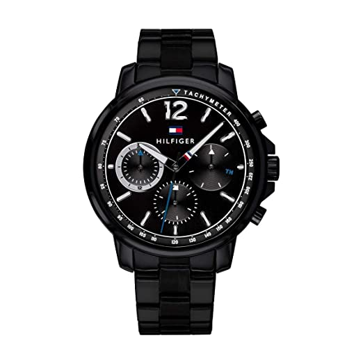 dac9ebeb8b01a4 Buy Tommy Hilfiger Analog Black Dial Men s Watch - TH1791529 Online at Low  Prices in India - Amazon.in