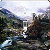 Rikki Knight RK-LSPS-3317 Thomas Moran Art Mounting Of The Holy Cross Design Light Switch Plate Cover