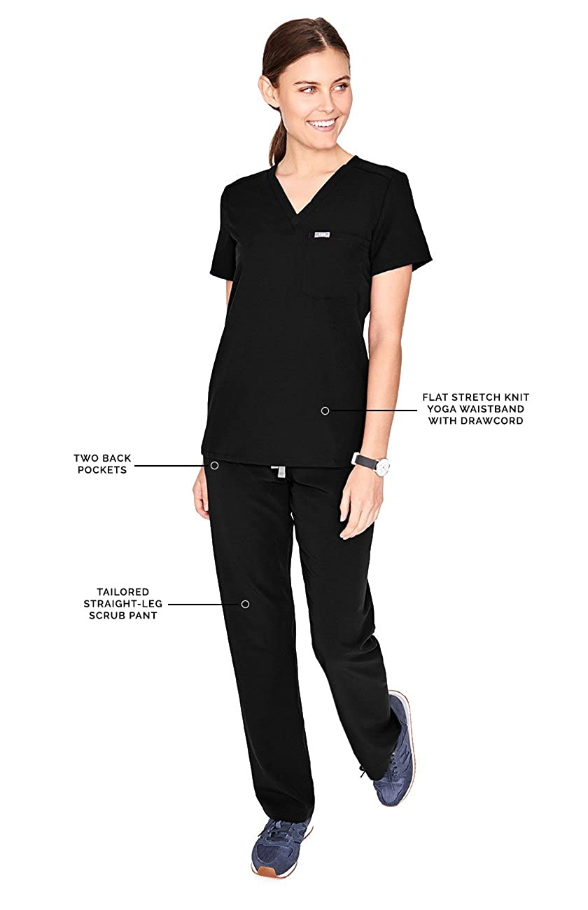 1a5f4714980e Crocs Medical Apparel Women s The Karla Five-Pocket Cargo Scrub Pant   Amazon.ca  Clothing   Accessories