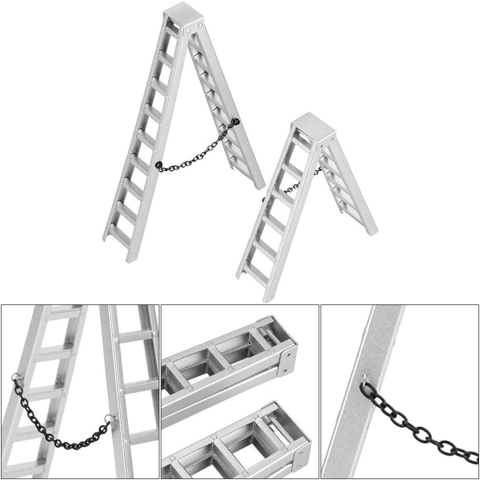 Tbest RC Car Mini Escalera, Mini Escalera de simulación Escalera Corta Compatible con Trx4 1/10 RC Crawler Car: Amazon.es: Deportes y aire libre