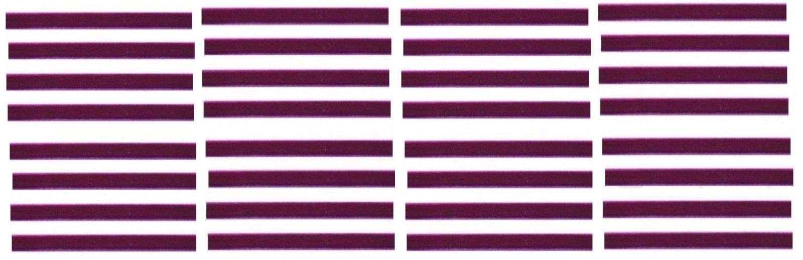 Magenta Replacement Cleaning Strips (32-Pack) VPI Okki Nokki 3M LP Vinyl Record Album