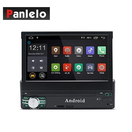 Panlelo T1 Plus Android 8.0 Estéreo para automóvil Navegación GPS 2GB RAM 1 DIN Auto Radio
