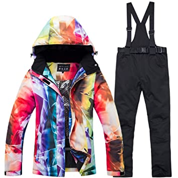 Active Outdoor Women Ski Jacket Windproof Waterproof Camouflage Breathable Skiing Hiking Jacket Winter Snowboard Ski Clothing Luggage & Bags Travel Accessories