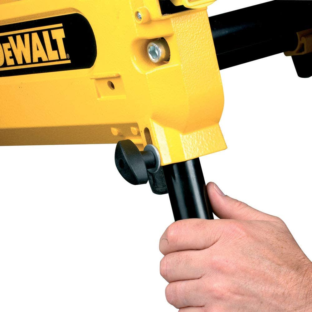 DW743N 2000 W, 240 V, Tischkreiss/äge, verstellbarer Werkst/ückanschlag, Staubabsaugung Kapp- und Gehrungs/äge DeWalt Tisch-