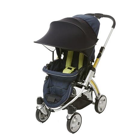 Sombrilla Capota para cochecito Sport Carrito y asiento de coche, universal protector solar Toldo para