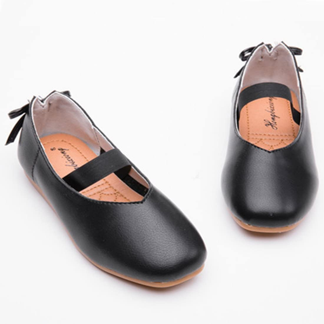 ON Kids Toddler Girls Princess Wedding Party School Shoes Mary Janes Ballet Flats Dress Shoe