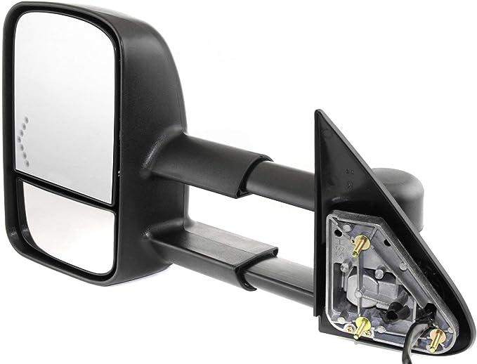 Power Mirror For 2003-2006 Chevrolet Silverado 1500 Right Manual Fold Textured