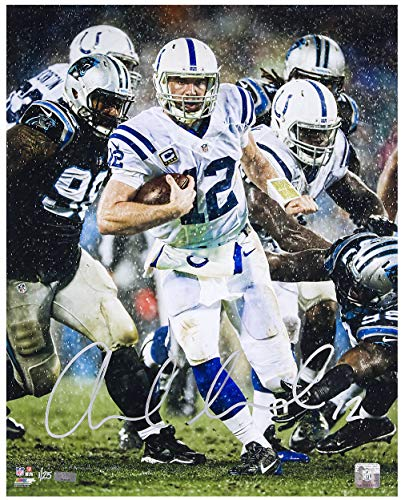 ANDREW LUCK Hand Signed 16 x 20
