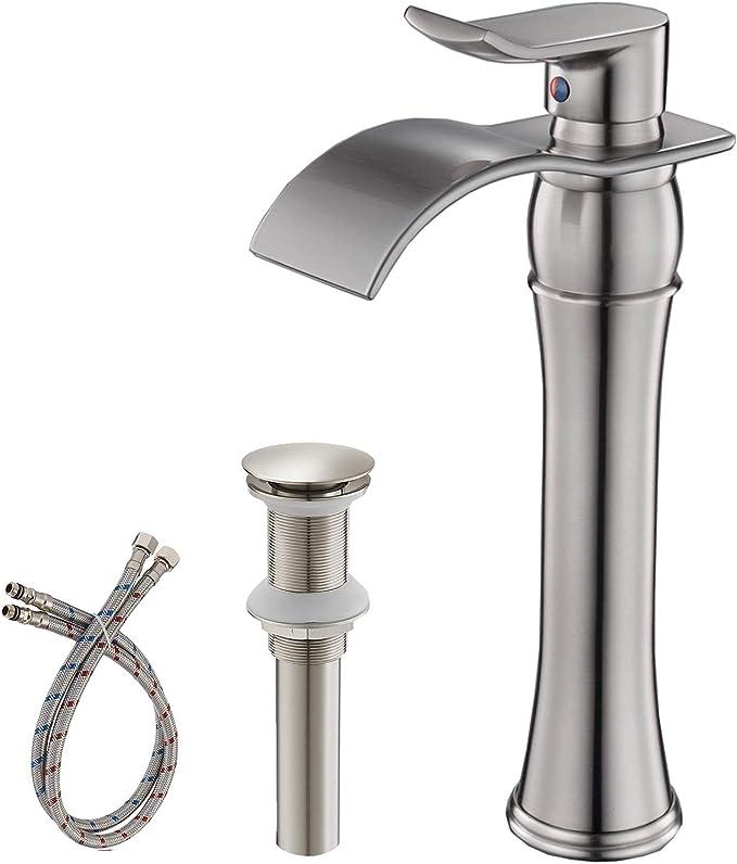 Aquafaucet Vessel Sink Faucets Brushed Nickel Review