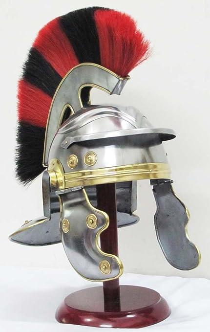 Medieval Centurión Casco Romano Caballero Armadura Casco