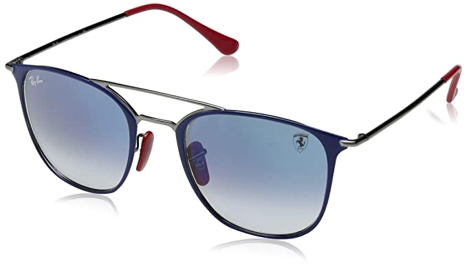 49389cfd30 Image Unavailable. Image not available for. Color  Ray-Ban Steel Unisex  Sunglass Square