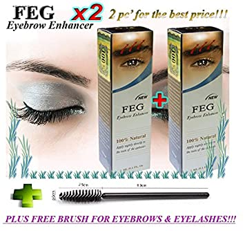 78c1f054c69 2 X BEST Eyebrow Serum. Most Effective Growth serum to LENGTHEN & THICKEN  Eyebrows;
