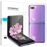 (2 Sets) Orzero Compatible for Samsung Galaxy Z Flip, Samsung Galaxy Z Flip 5G (Premium Quality) Edge to Edge (Full…