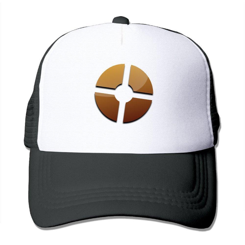 Unisex Team Fortress 2 Logo Adjustable Mesh Cap Black Amazon Com