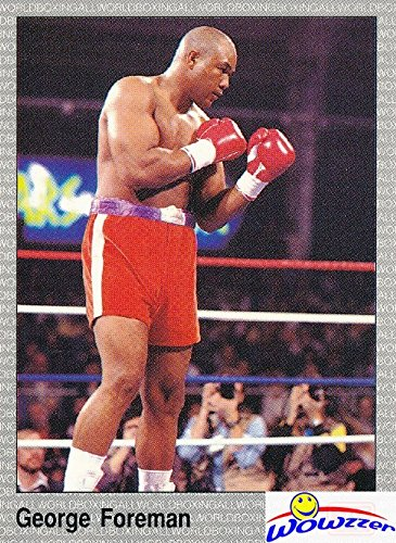 Vintage Boxing Memorabilia - George Foreman 1991 All World #16 Boxing Card in MINT Condition ! Shipped in Ultra Pro Top Loader to Protect it! Vintage Card over 25 Years old of Boxing Legend!