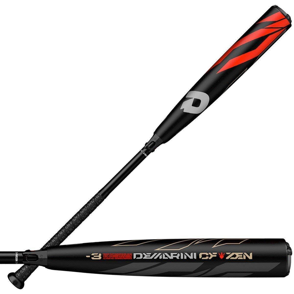 DeMarini 2019 CF Zen Balanced (-3) 2 5/8'' BBCOR Baseball Bat, 34''/31 oz