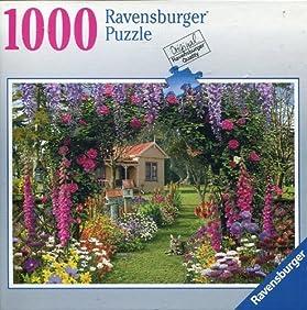 Ravensburger Cottage Garden 1000 Piece Jigsaw Puzzle