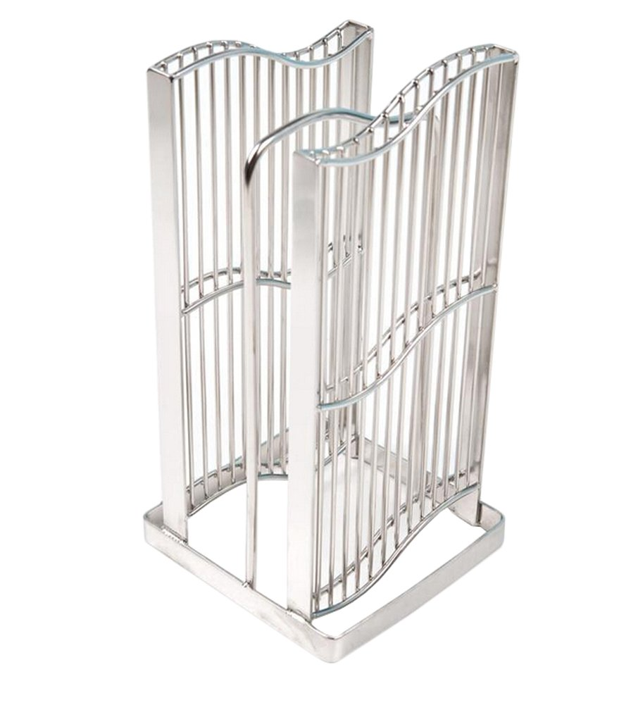 Fashionclubs Kitchen Stainless Steel Pantry Organizer Holder Drain Stand Rack For Cutting Board And Knives