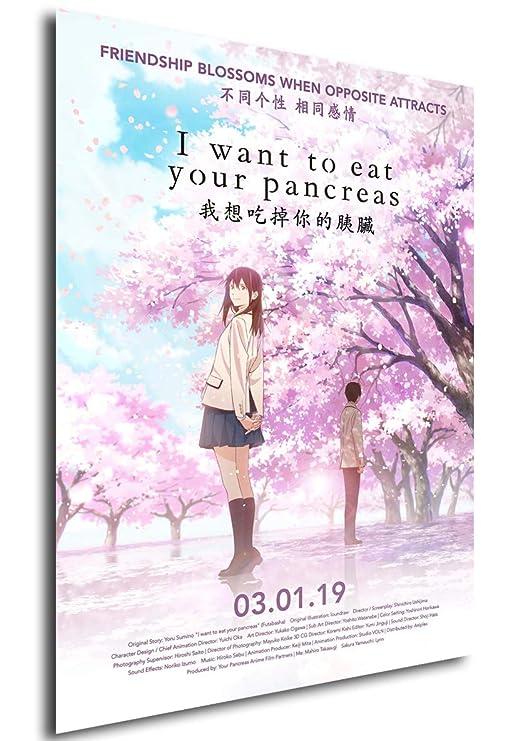 Instabuy Poster Cartel de pelicula - Quiero comerme tu ...