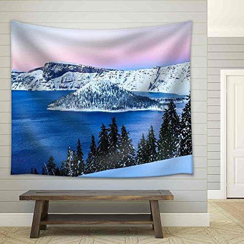 Lake Oregon Crater Lake National Park Fabric Wall