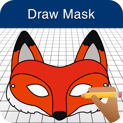 How to Draw Face Masks (Deadpool Colors)