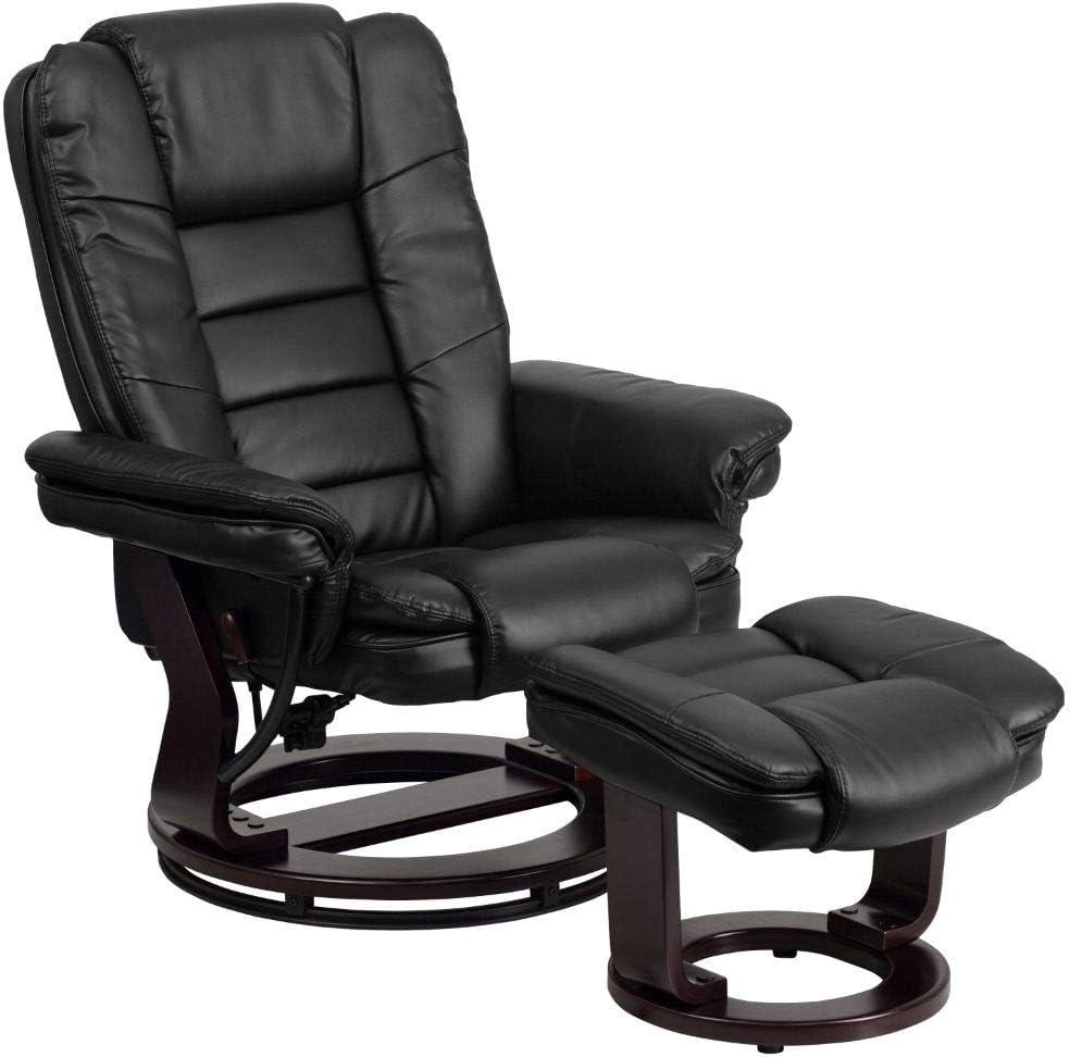 Flash Furniture Multi-Position black leather Recliner