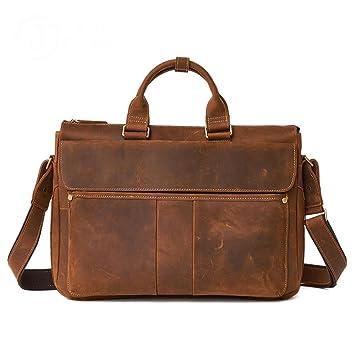 0f1b25e8e5 Hommes: accessoires Designer Cuir Homme Femme Crossover Épaule Travail Messenger  Sac Ordinateur Portable