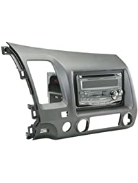 Scosche HA1561DGB 2006 Honda Civic DIN & DBL Kit Dark Atlas Grey Color Match, Gray