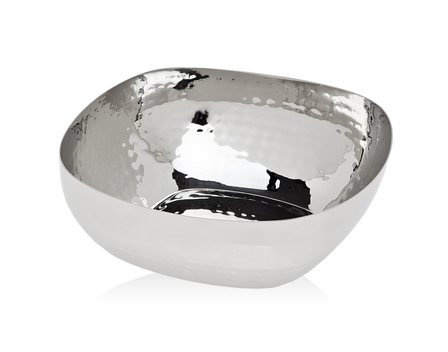 Godinger Silver Art Hammered Square 6'' Nut Bowl