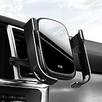 Baseus Rock-solid infrarood sensor mobiele telefoon houder voor auto ventilatie draadloze autolader 10W Qi Charge…