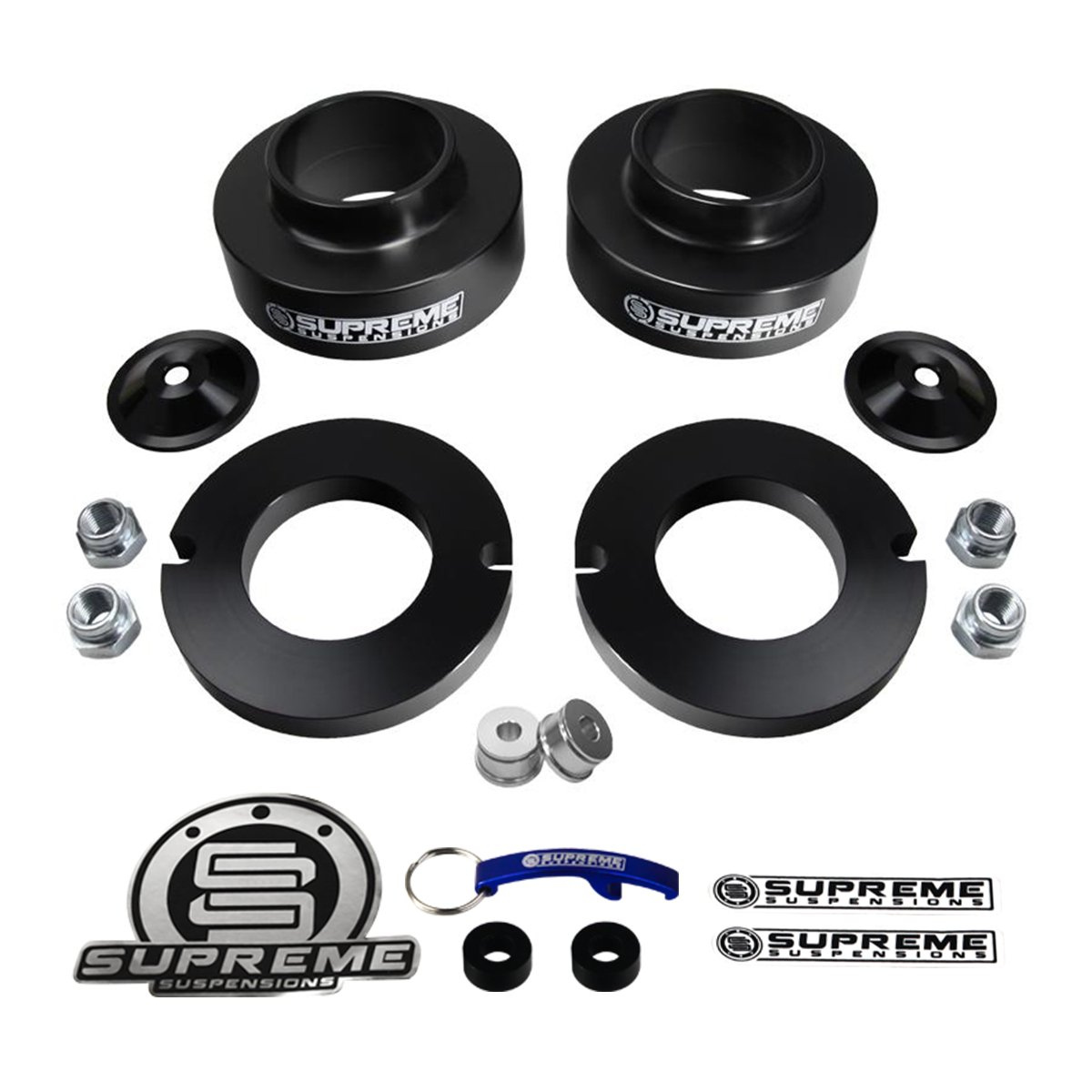 Supreme Suspensions - Chevy Trailblazer 2.5' Front Leveling Lift Kit
