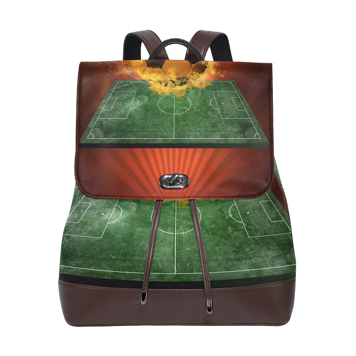 LUPINZ - Bolsa de Piel para Libros, diseño de balón de fútbol ...