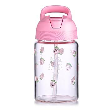 oneisall 400 ml/oz niños/niño/adulto taza de viaje, paja botella