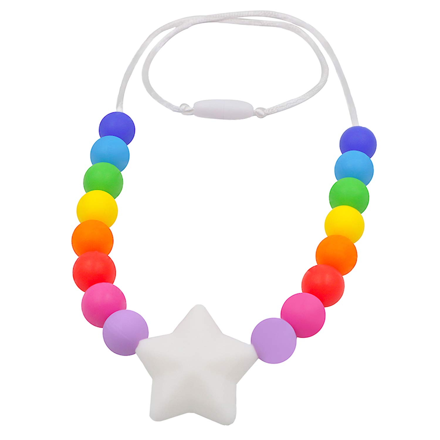 Sensory Chew Chewelry Chewy Necklace Pendant Autism ADHD ...