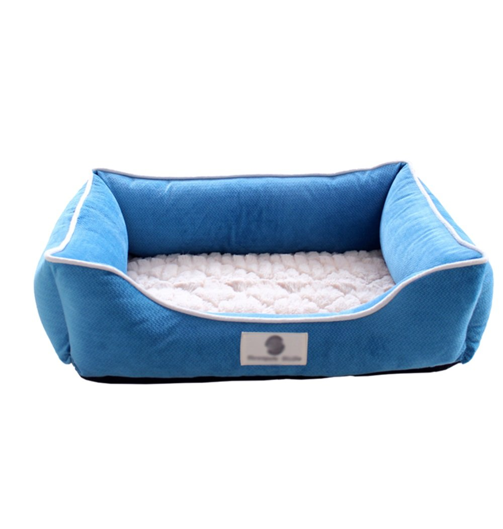Letto per animali domestici Canile per gatti lettiera per cani cane medio inverno caldo domestico lavabile casa per cani (dimensioni   90  63  22cm)
