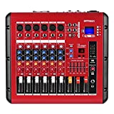 Best Karaoke Mixers With Digital - ammoon PMR606 6-Channel Digital Audio Mixer Mixing Console Review