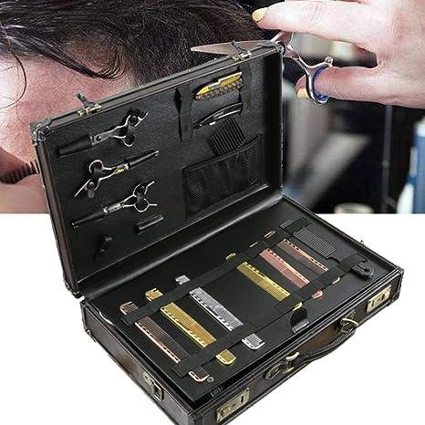 WANGXN Caja de Herramientas de peluquería Profesional Caja de Maquillaje Caja de Herramientas de peluquería portátil Caja de Herramientas de peluquería: Amazon.es: Deportes y aire libre