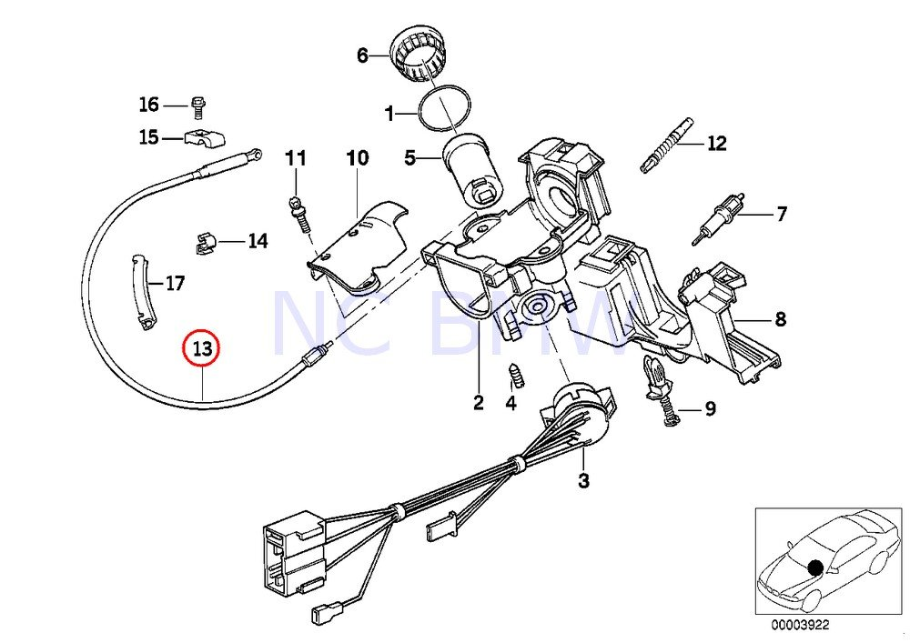 1997 bmw 318i automatic transmission wiring diagram database  amazon bmw genuine interlock cable automotive 1997 bmw 328i engine 1997 bmw 318i automatic transmission