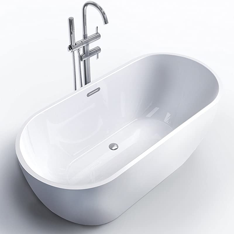 Ferdy Freestanding Soaker Tub for Bathroom
