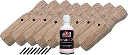 Complete Set of 26 Tornado Foosball Table Men Roll Pins Free Shipping