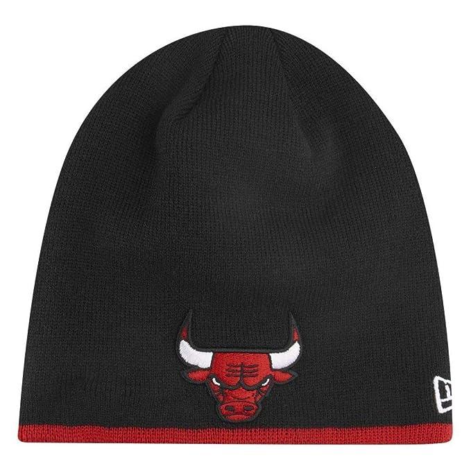 New Era cap Team Skull Knit Chicago Bulls  Amazon.it  Abbigliamento 12024f0c52fe