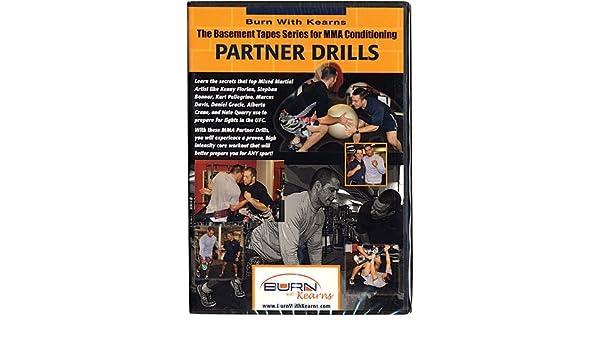 Amazon com : Burn With The Kerns MMA Partner Drills DVD