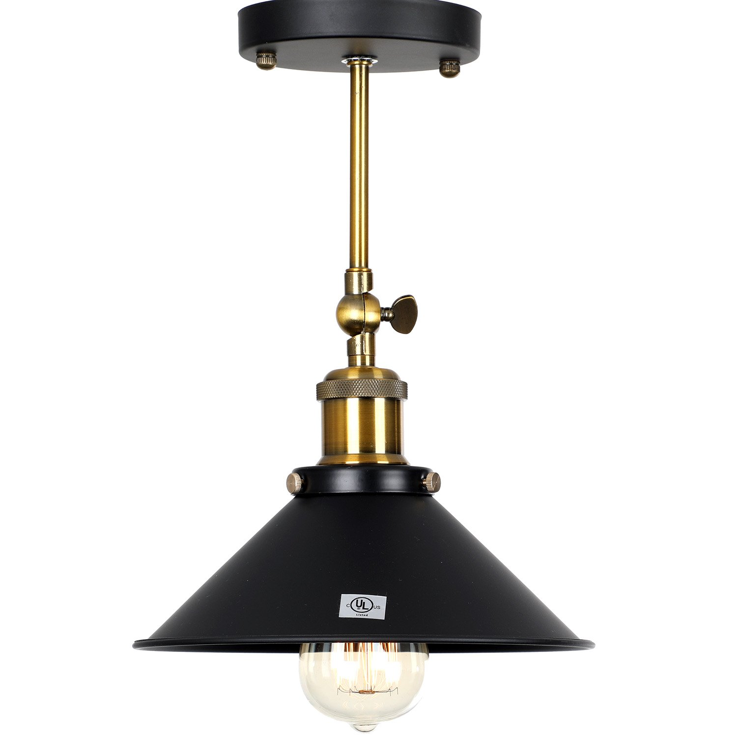 Bulb not Included U/'Artlines Vintage Industrial Wall Lights Sconce Retro Wall Light Fixtures Lamp Shade Metal E27 Perfect for Kitchen Restaurant Loft Coffee Bar