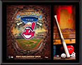 "Cleveland Indians Sublimated 12"" x 15"" Team Logo Plaque - Fanatics Authentic Certified - MLB Team Plaques and Collages"
