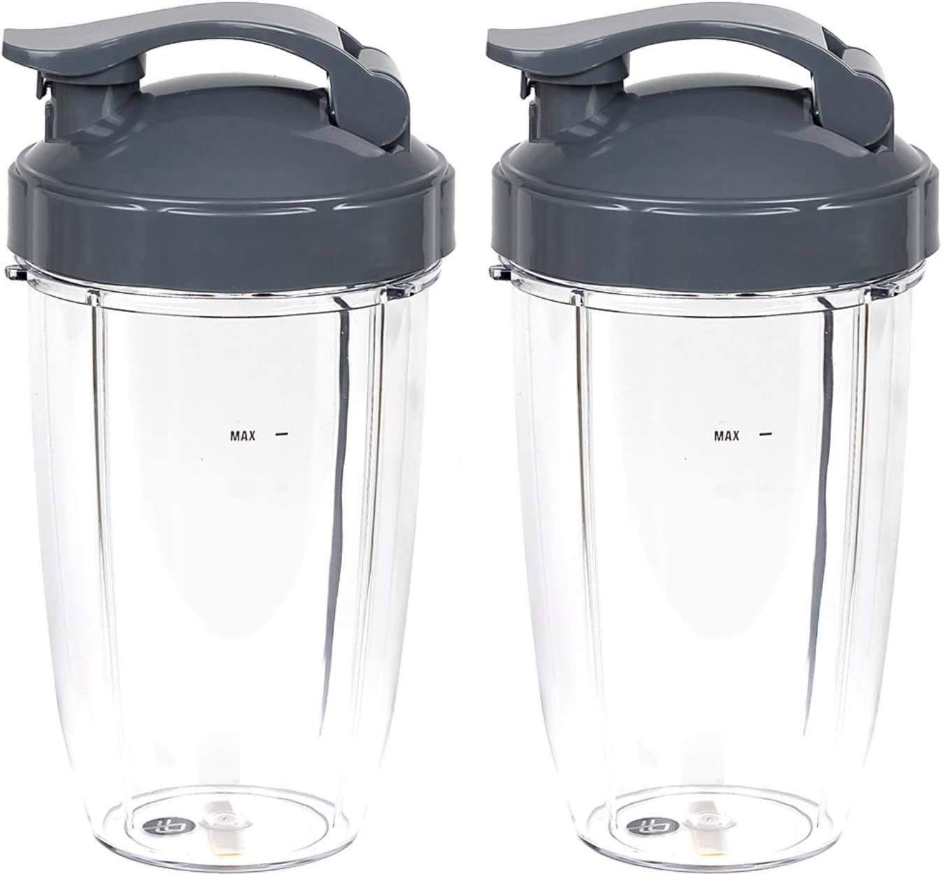 Tall Replacement Cups Compatible With NutriBullet High-Speed Blender/Mixer (Pack of 2) by Preferred Parts