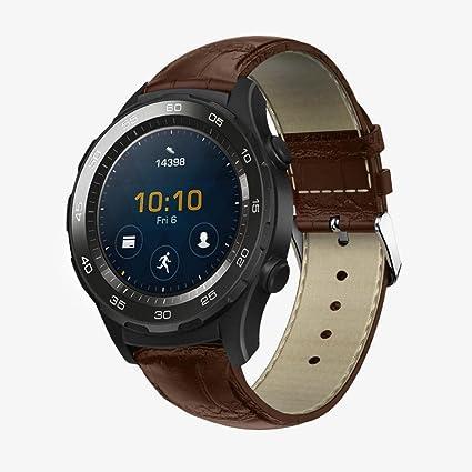 Huawei Watch 2 Correa, Malloom Reemplazo de PU cuero reloj pulsera correa banda para Huawei